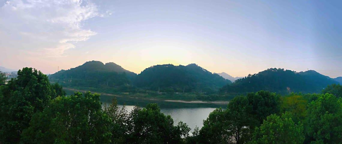 枕流·别业 — 观星、枕流、闻香、赏月!