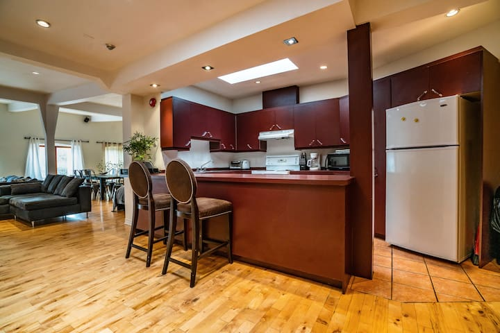 Spacious downtown MTL 2 bedrooms  loft + PARKING