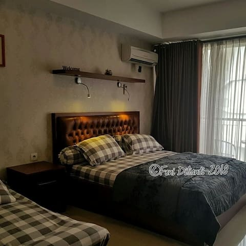 Comfy room with mountain view in the heart of Dago
