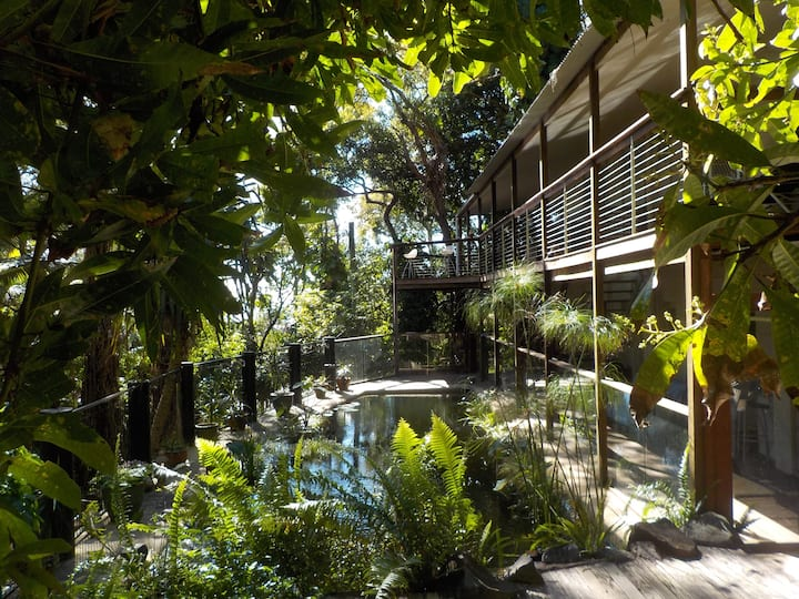 Boutique Natural Rainforest Beach Studio