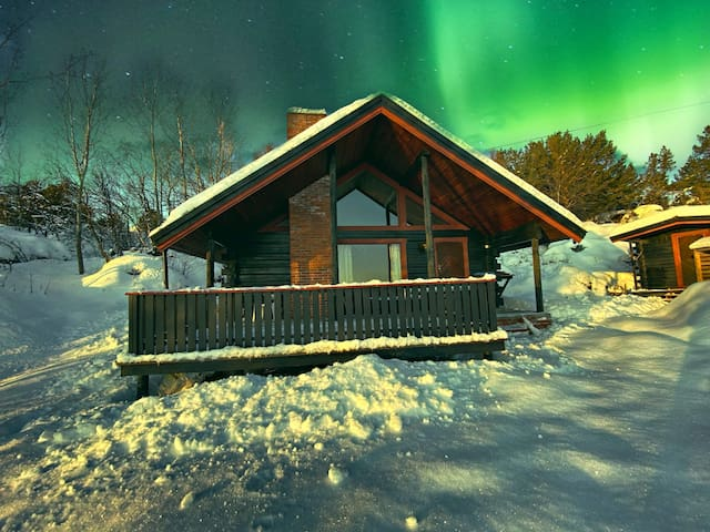 Nice Cabin with Annex in Buvik on Southside Senja.