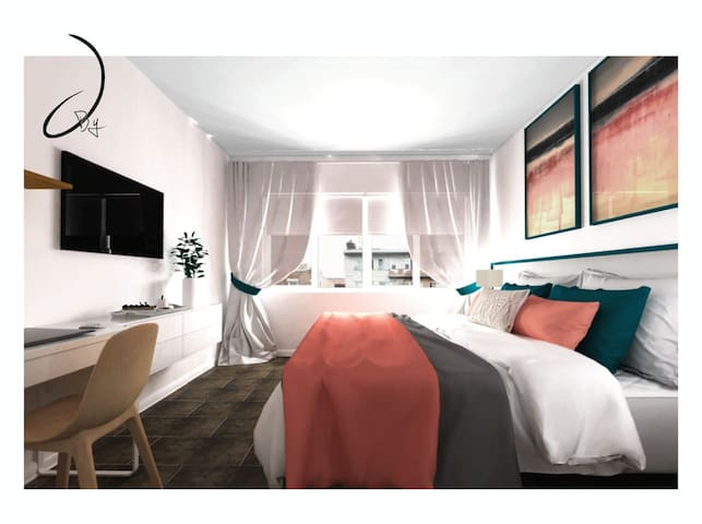 Cozy room-Olympic Stadium Montreal downtown #1