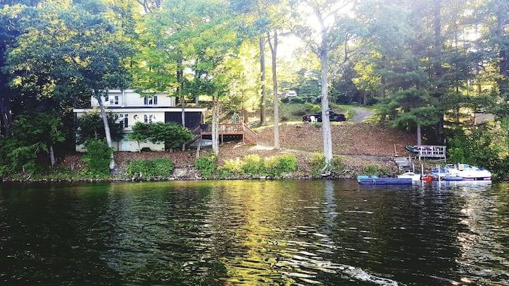 Waterfront Bliss on Lake Hortonia, Vermont