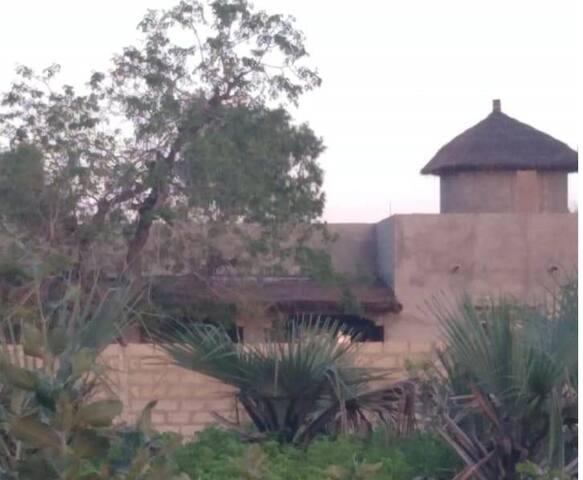 Chambres à louer dans maison à Ndangane Sénégal