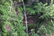 Famous Kaaterskill Falls quick drive away