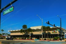 We are located right on Atlantic Avenue & International Speedway Blv