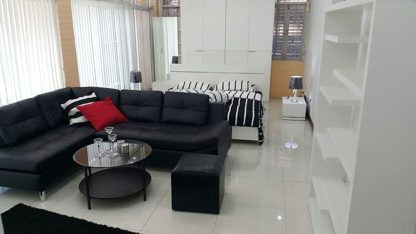 3 min walk to Central plaza udon - Udon Thani - Appartement