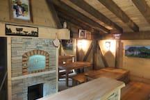Chambre Familliale au Petit Gîte