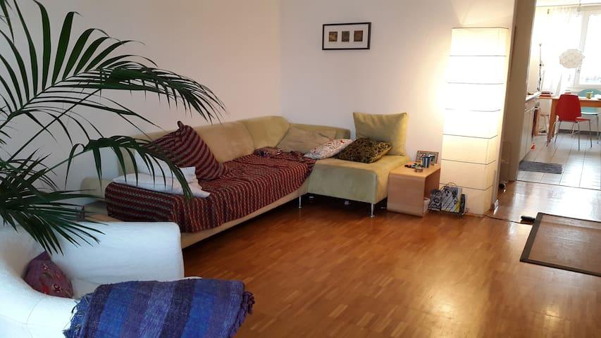 ZIMMER MIT WOHNRAUM UND BALKON - Winterthur - Apartamento