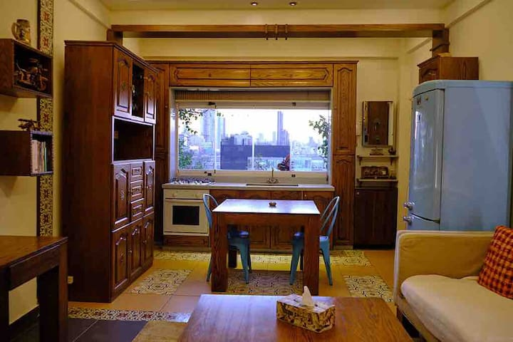 Two bedrooms appartment at mar mkhayel
