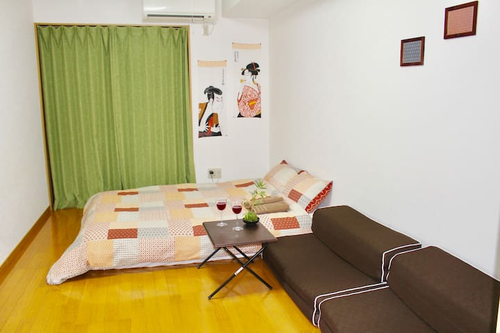 Kyoto New! 108 Riverside Japanese Apartment