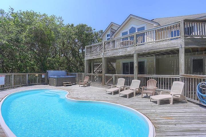 3010 Sea Witch SS * 2 Min Walk to Beach * Private Pool * Close to Golf