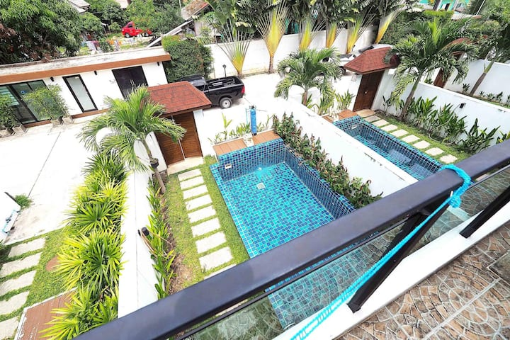Affordable convenient private pool villa in Kamala
