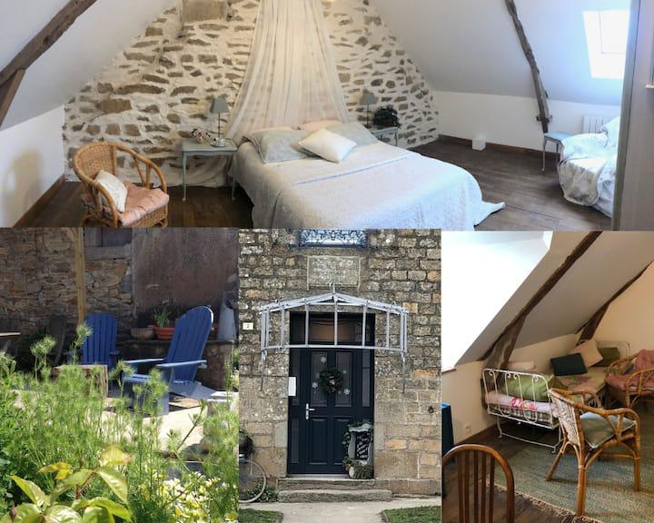 Chambres d'hôtes cosy, salon, espace spa/ sauna