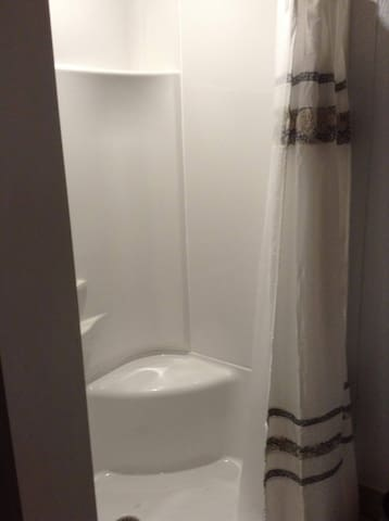 shower with seat