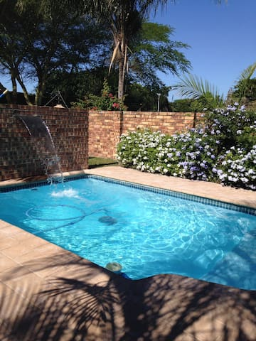 Pool is a must in Zululand summers