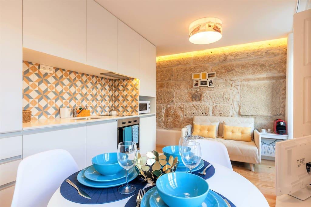 Sala de estar/ Cozinha