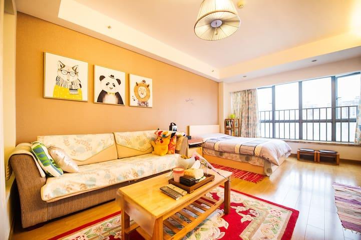 Ki's House/正地铁口带厨卫高档公寓温馨小窝 - 长沙 - Apartament