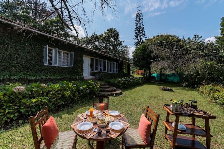 Nandanvan-3Bedroom Riverside Home on Coffee Estate