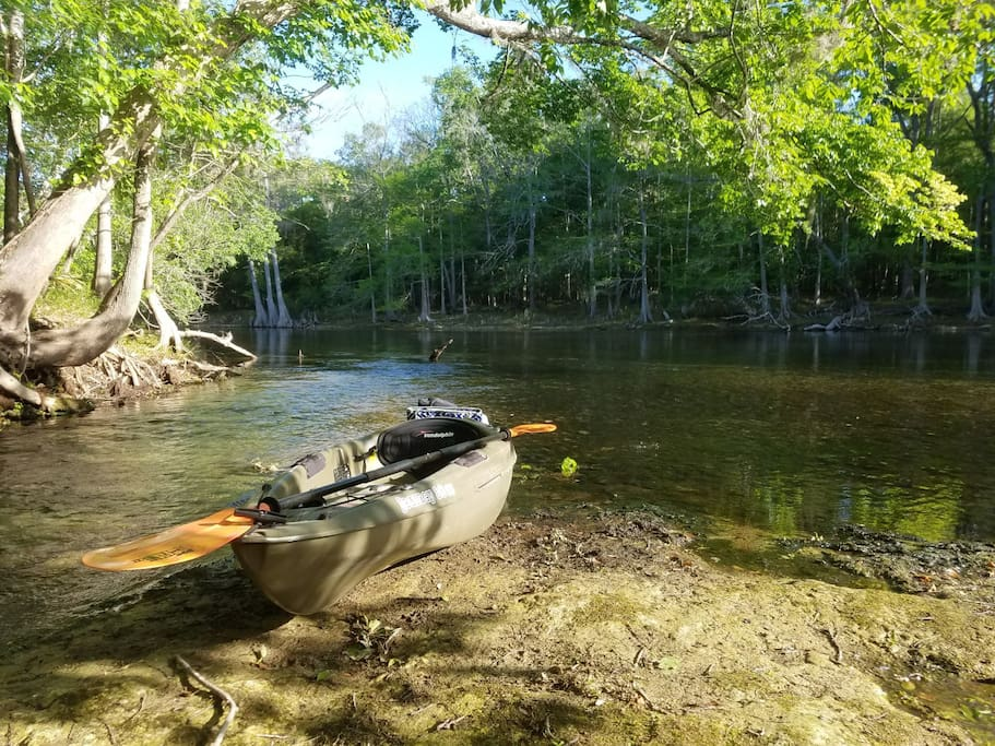 There are lots of kayaking spots to explore all around the area