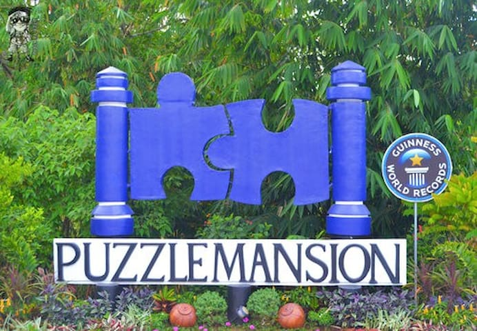We are near Puzzle Mansion