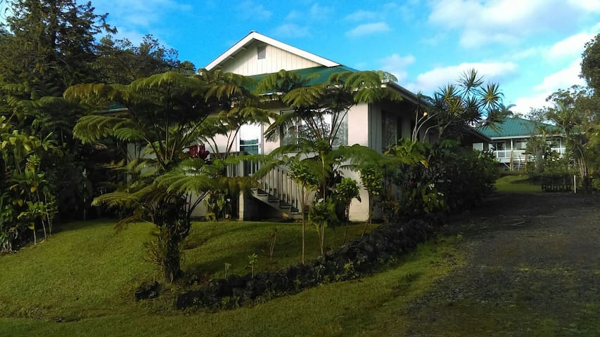 Cozy and Comfortable Ohana Home - Mountain View - Huis