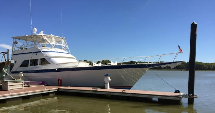 """Seafood"" - The Original Caddyshack Movie Yacht"