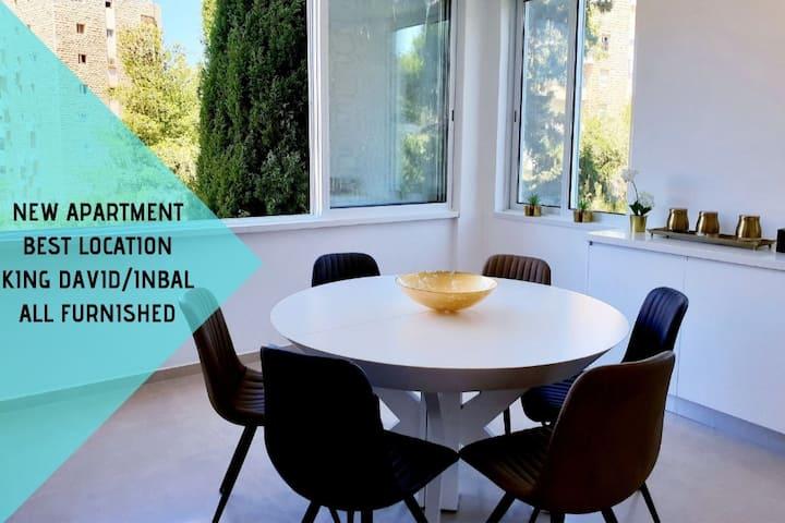 Brand New Apartment-King David/Inbal/