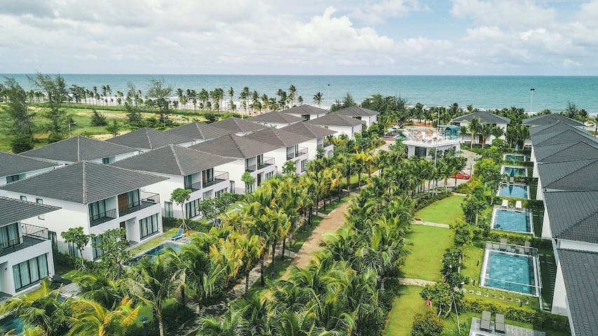 Phu Quoc OBlue 4BR  5Star Standard By the Beach