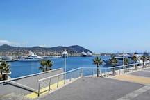 Il porto nuovo di Imperia Porto Maurizio.
