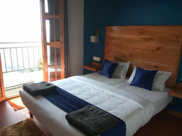 Fully Furnished Bedroom with Mountain View