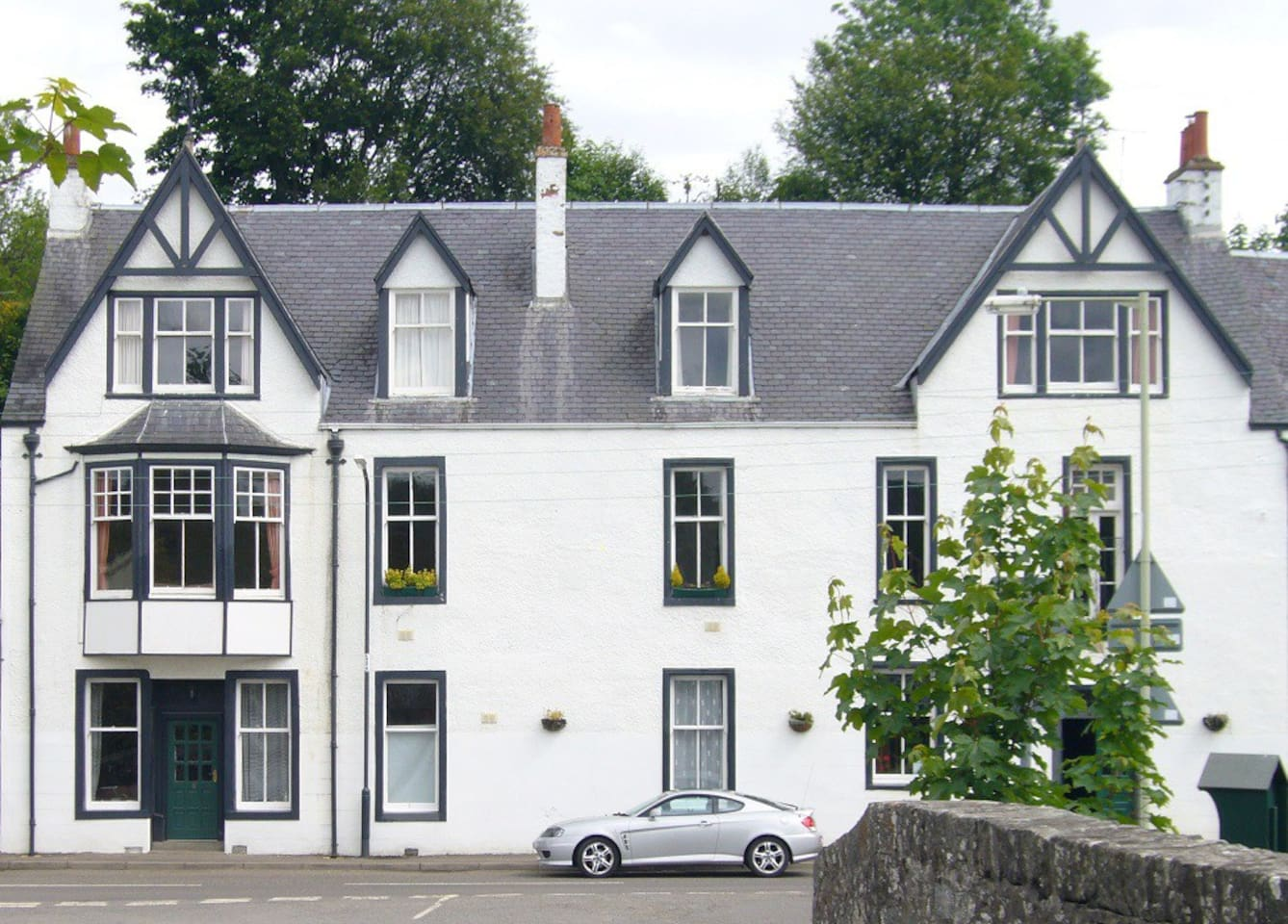 Apartments converted from traditional coaching Inn in the heart of the village.