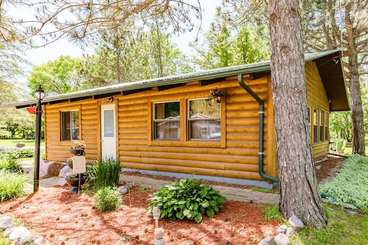 Log Cabin on Partridge Lake, Bear Lodge