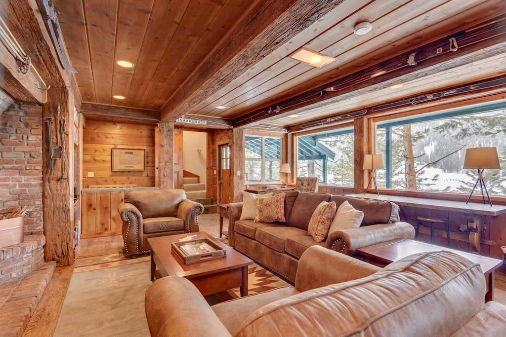 Living Area - Main Floor