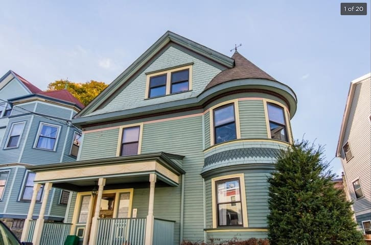 Cozy, light-filled apartment, Jamaica Plain - Boston - Daire