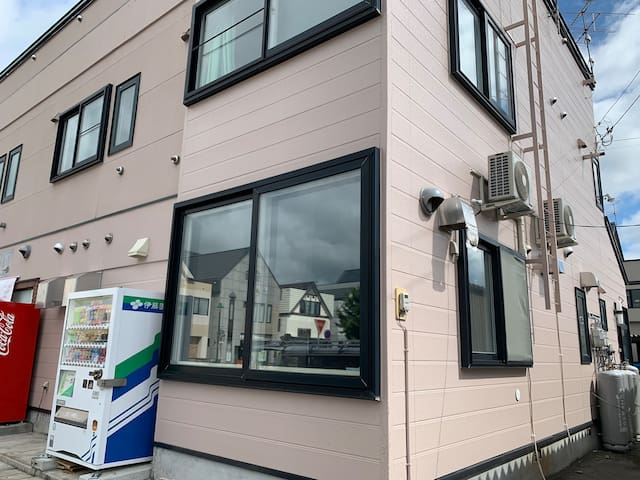大人数に人気の飲食店 2F/Near Biei   Furano/Wifi/Parking Free