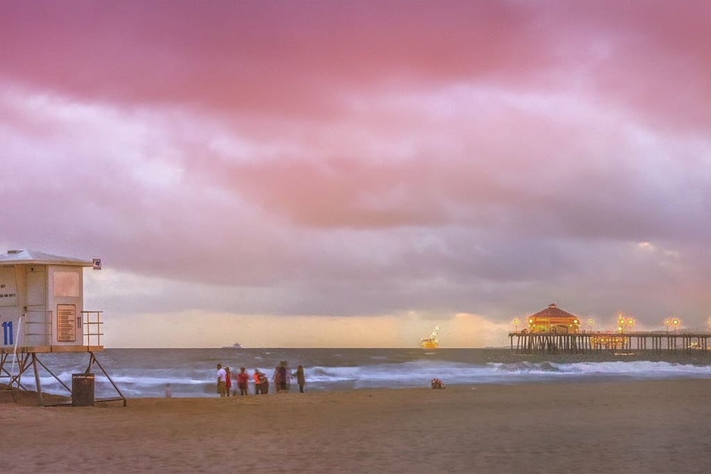 Huntington Beach and the Pier