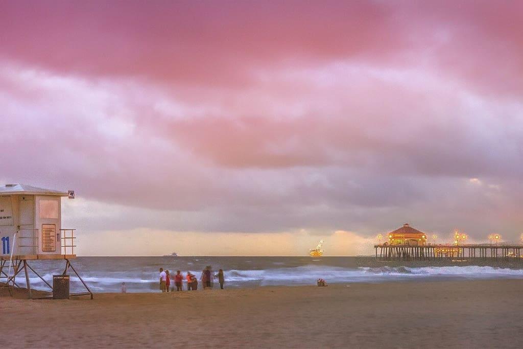 Huntington Beach and the Pier