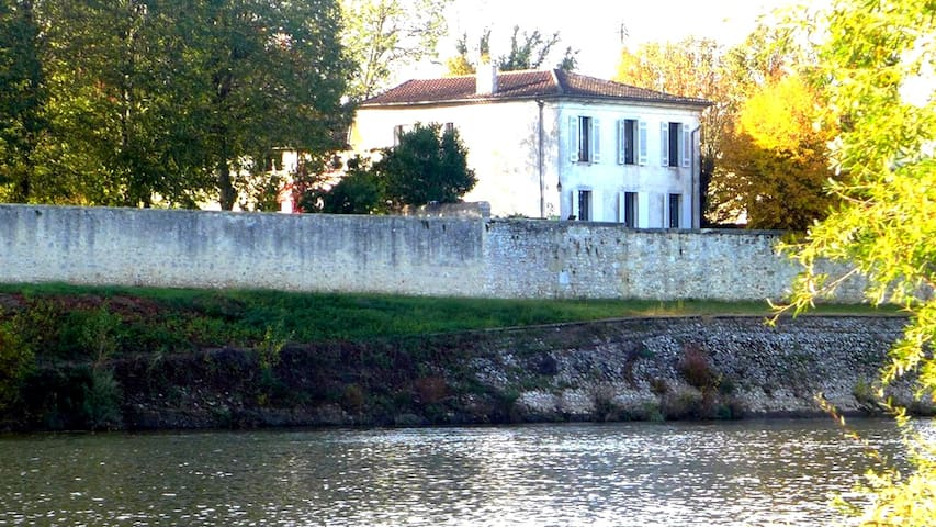 YGEIA - DORDOGNE RIVER HOUSE - Flaujagues - Dom