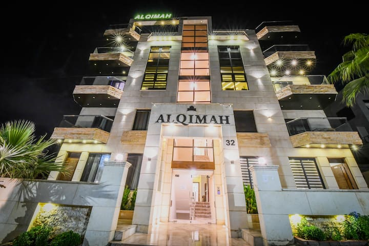 Alqimah Modern Studio Apartment With Balcony Wifi