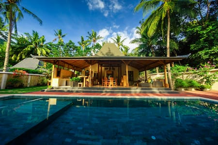 Beautiful 'Villa Joglo' at Setangi Beach, Senggigi