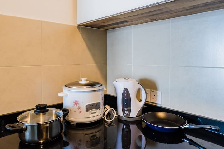 Rice Cooker, Kettle, Pot & Pan