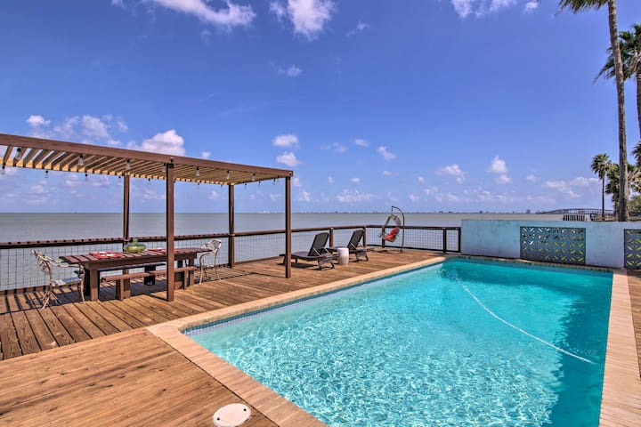 NEW! Waterfront Port Isabel Home w/ Fishing Pier!