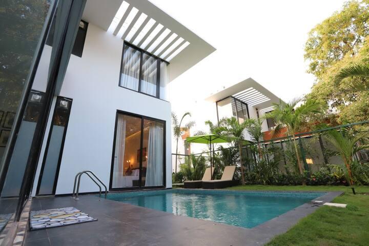 Swara Viola-3 bedroom with a private pool.