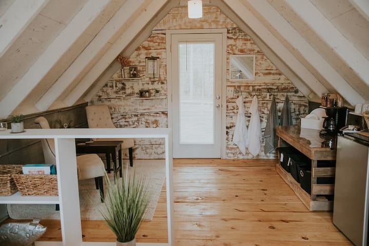 Barn Loft on 20-Acre Farm