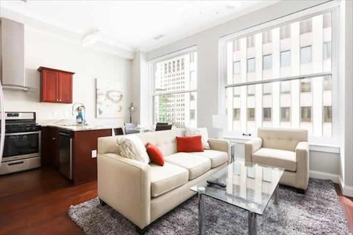 Eco friendly, luxurious apt in the ♥ of the city