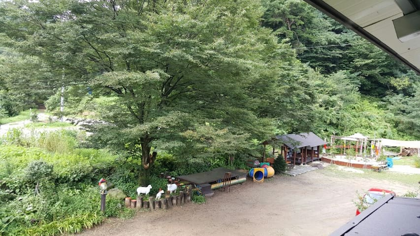 [전주시 독배마을] 계곡과 산이 어우러진 아름다운곳#1 / 한옥마을20분