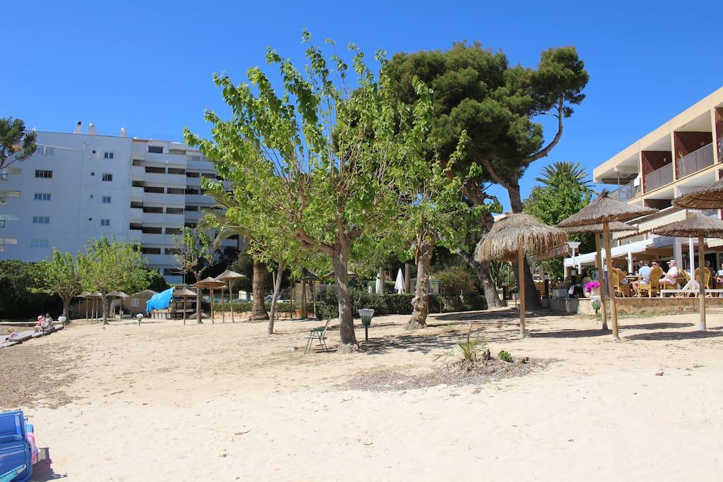 Klein aber Fein, der Sand und strand von Con Caliu