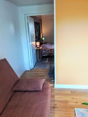 Accès à la chambre double