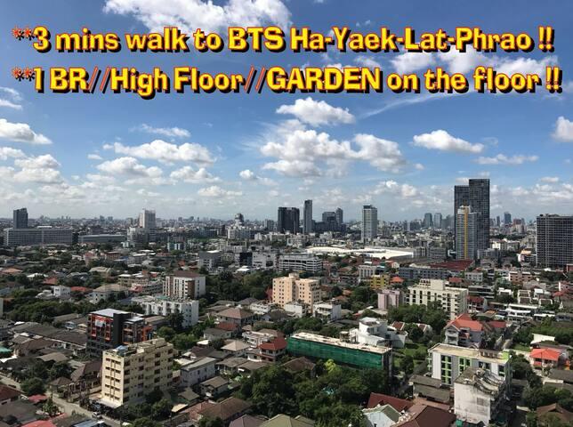 3min to BTS,MRT,Mall,Tesco,Exquisite Pool,FreeWIFI